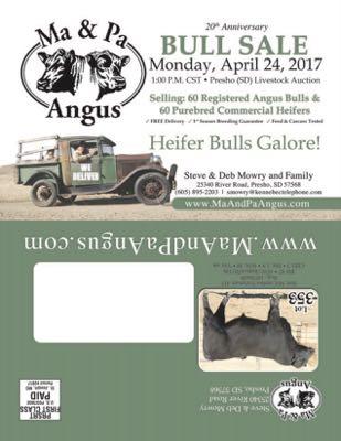 20th Anniversary Bull Sale