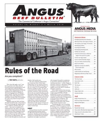 March Angus Beef Bulletin