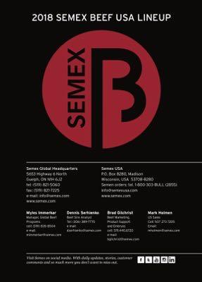 Semex Beef 2018