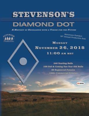 Stevenson's Diamond Dot